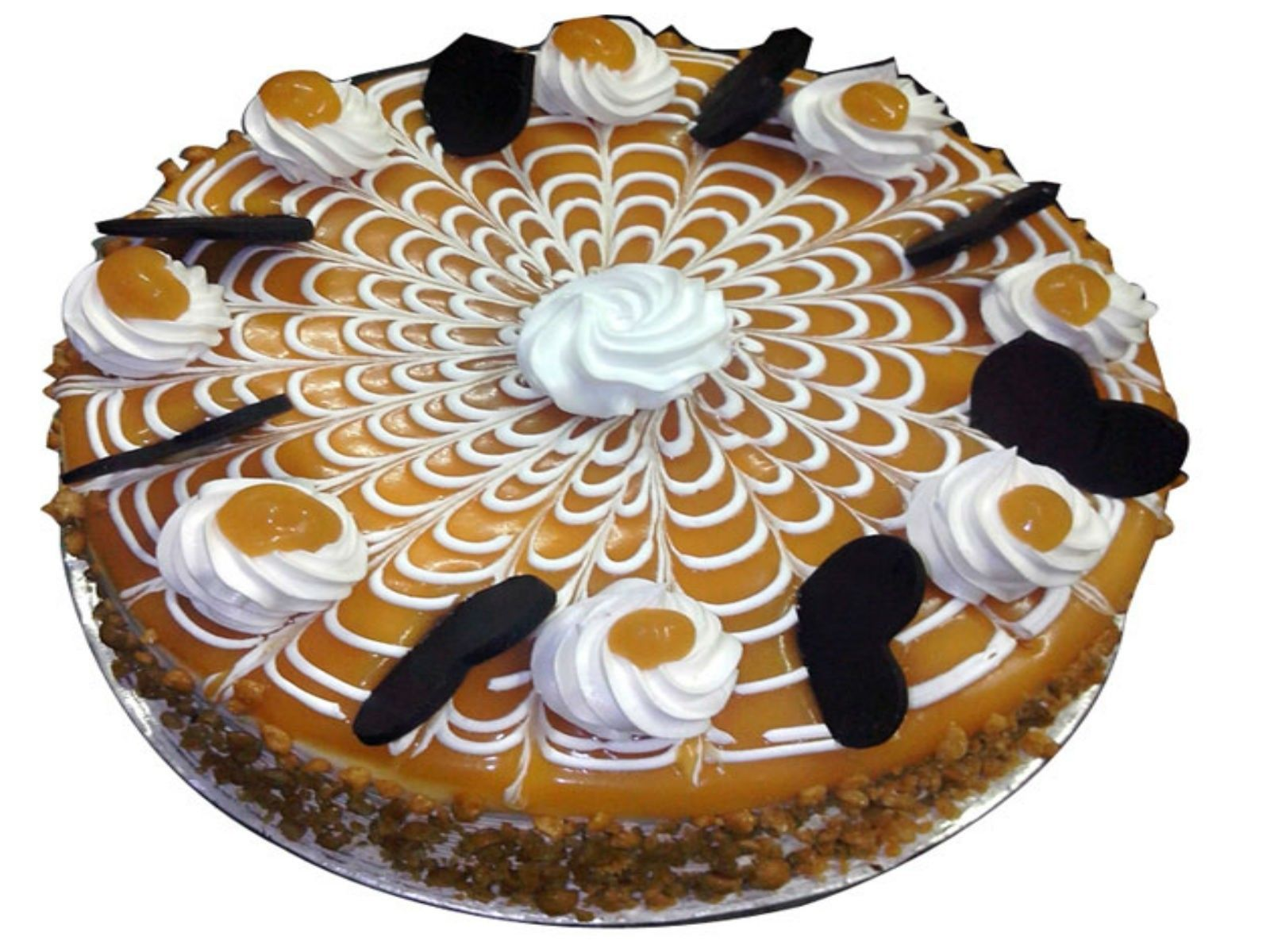 Half Kg Crunchy Butterscotch Cake Butterscotch cake