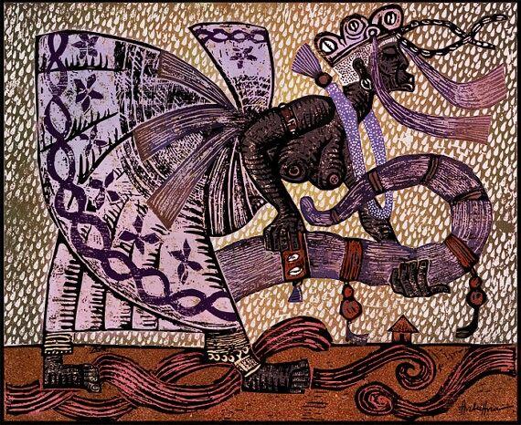 Nana Buruku art by André Hora ❤