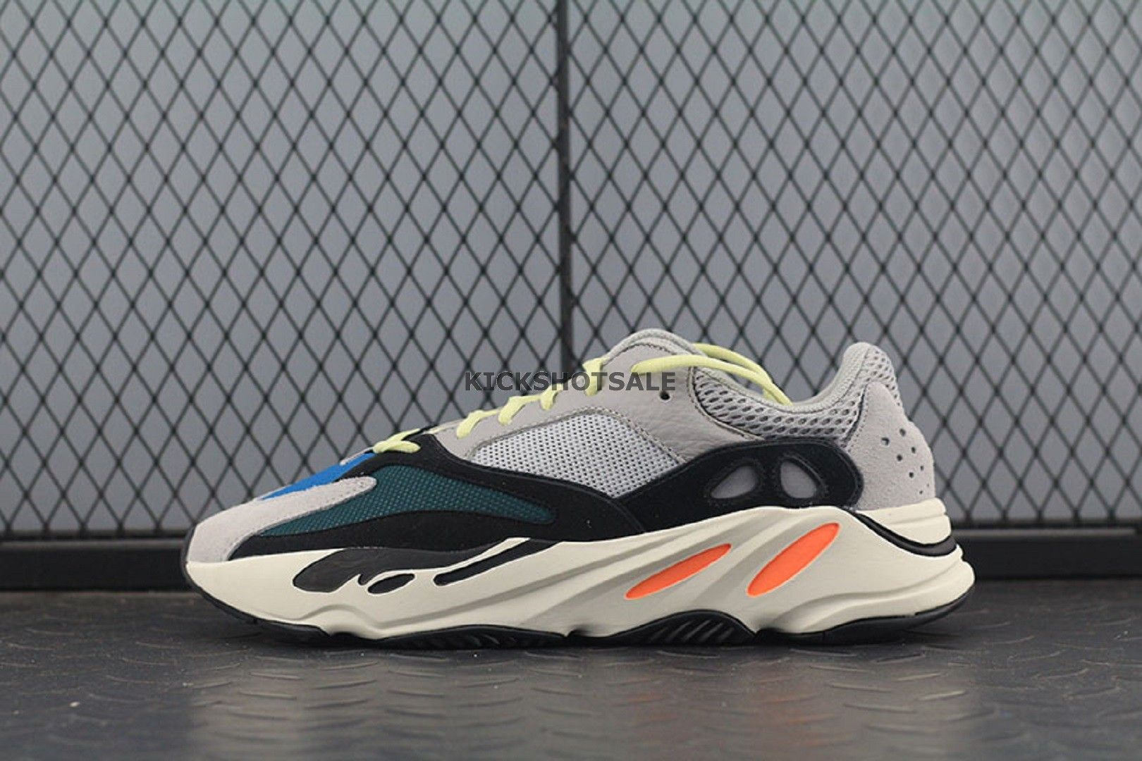 10fe7be1e8287 Adidas Yeezy Wave Runner 700 Solid Grey B75571