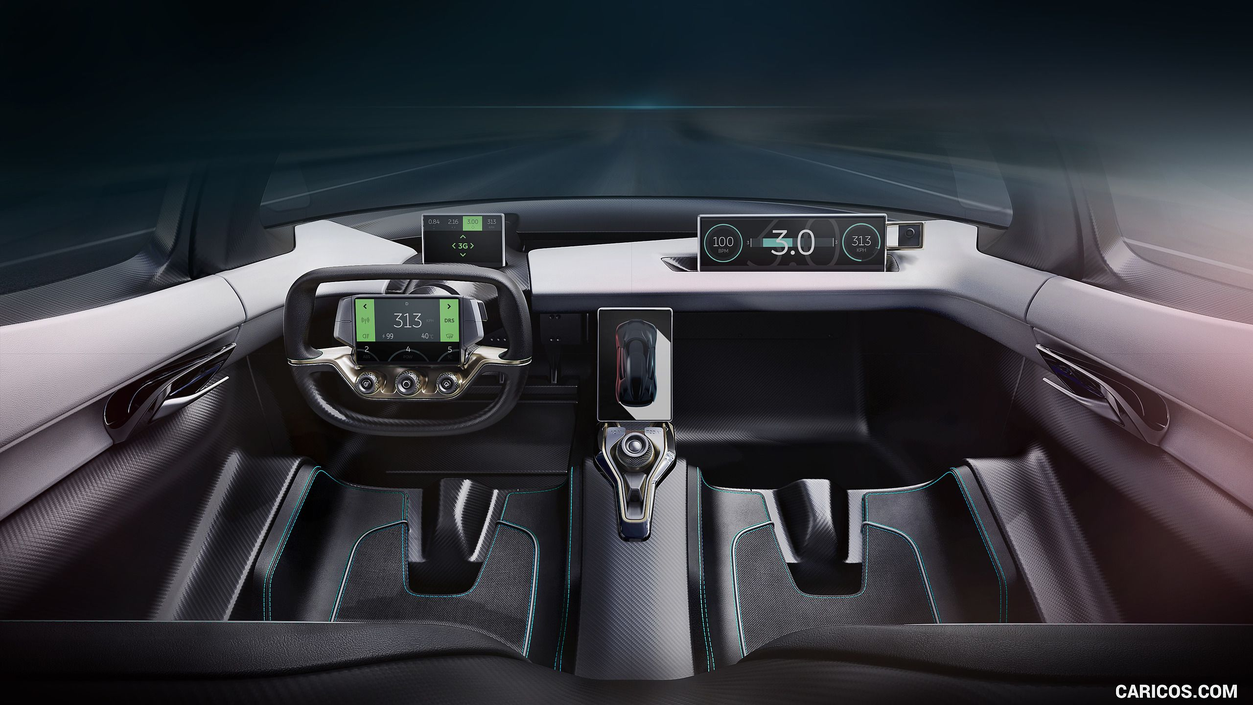 Gallery Of Nio Ep9 2017 Images Wallpaper 17 Of 21 Car Interior Car Interior Design Super Cars