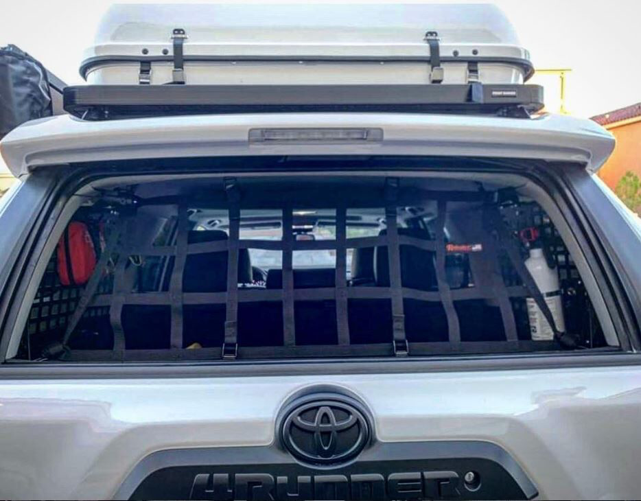 2010 Newer Toyota 4runner 5th Gen N280 Back Window Barrier Net Toyota 4runner 4runner Toyota 4runner Trd