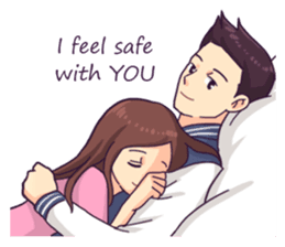 When 2 Hearts Connected Yours And Mine Cartoon De Casais Anime Amor Casal Cute Love Quotes