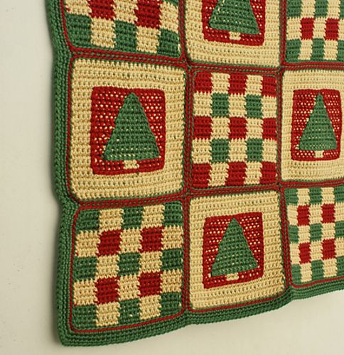 Christmas Tree Afghan By Amy Solovay Free Crochet Pattern See