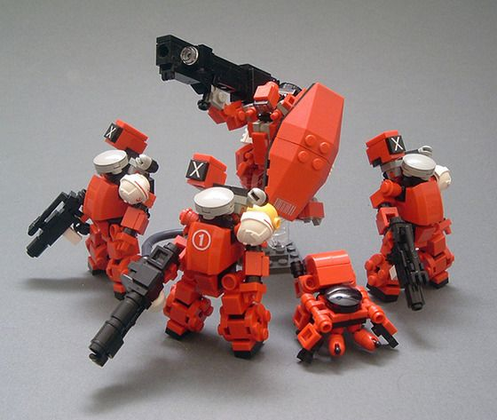 Mobile Frame Zero Unit from MF0 Kickstarter | BadAss MoF0 Mecha ...