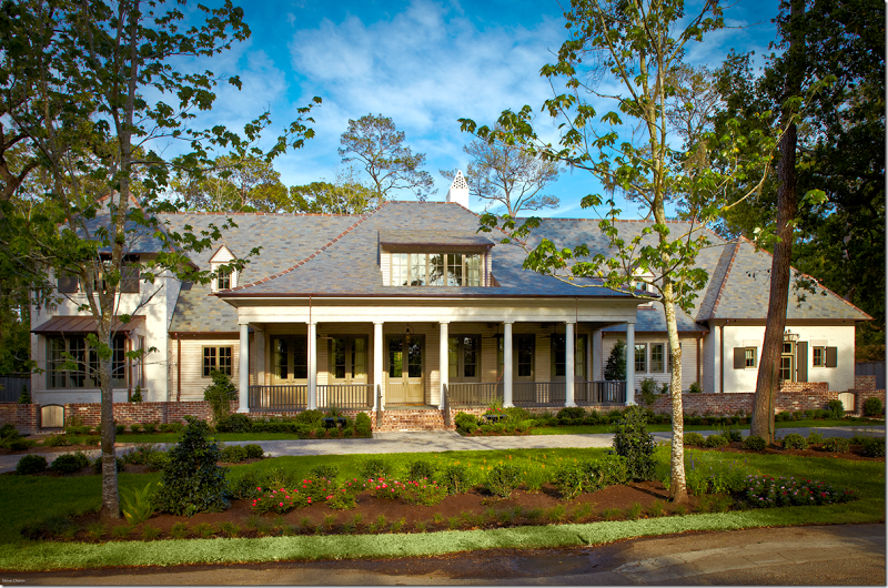 Stunning Custom Acadian Home Inspired By Renown Architect A. Hayes ...