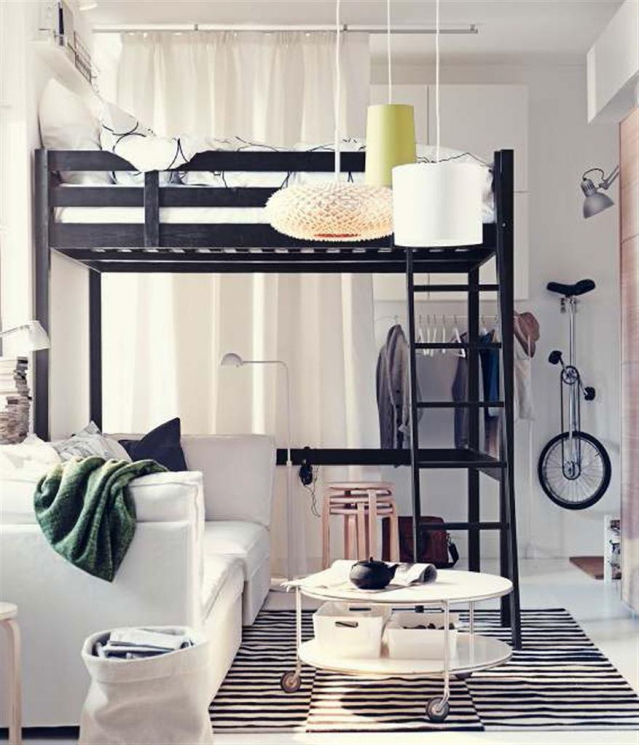 I Love Bunk Beds And Loft Beds More Than I Care To Admitas An Entrancing Ikea Small Living Room Design Ideas Design Inspiration