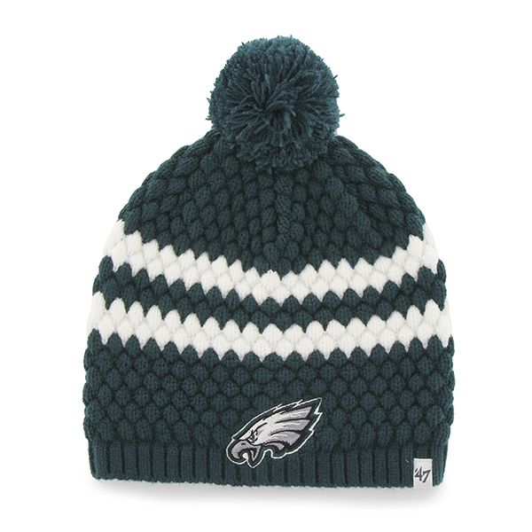 Philadelphia Eagles Kendall Beanie Pacific Green 47 Brand Womens Hat ... afe49ebb7
