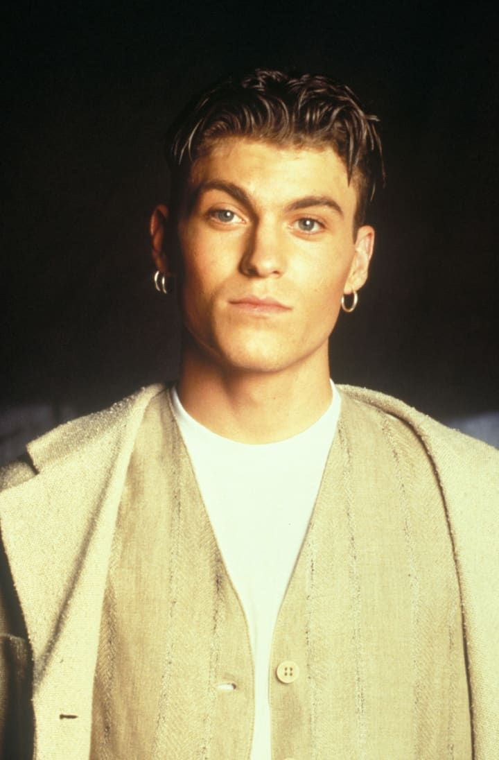 As Worn By Brian Austin Green Cool Hairstyles For Men Mens Hairstyles 90s Hairstyles