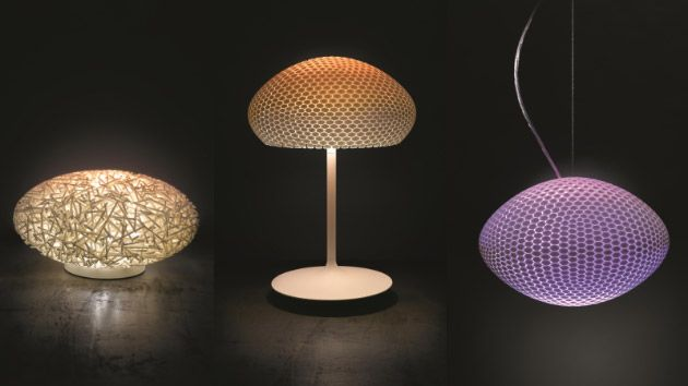 Philips Hue Targets The Ultra High End With 3 500 3d Printed Luminaires Hue Philips Hanging Lamp Shade Lampshade Makeover