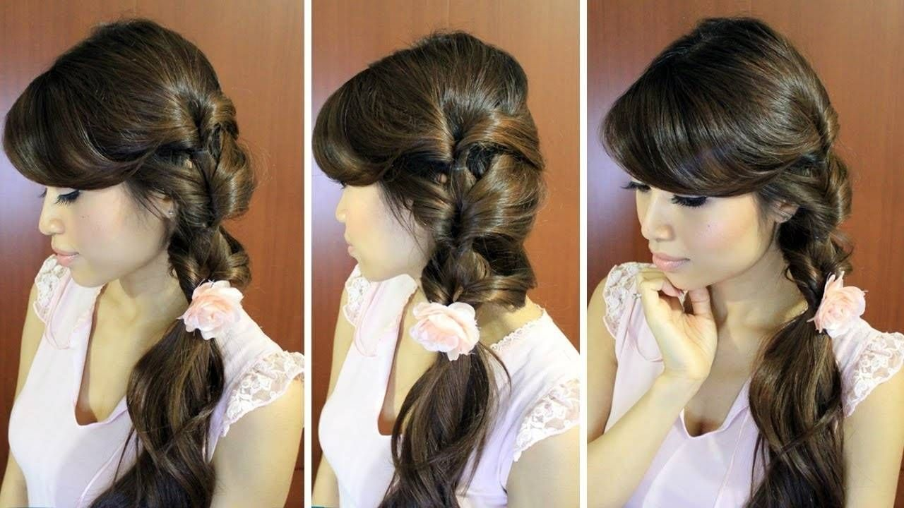 photo girls hairstyle for long hairs for daily college