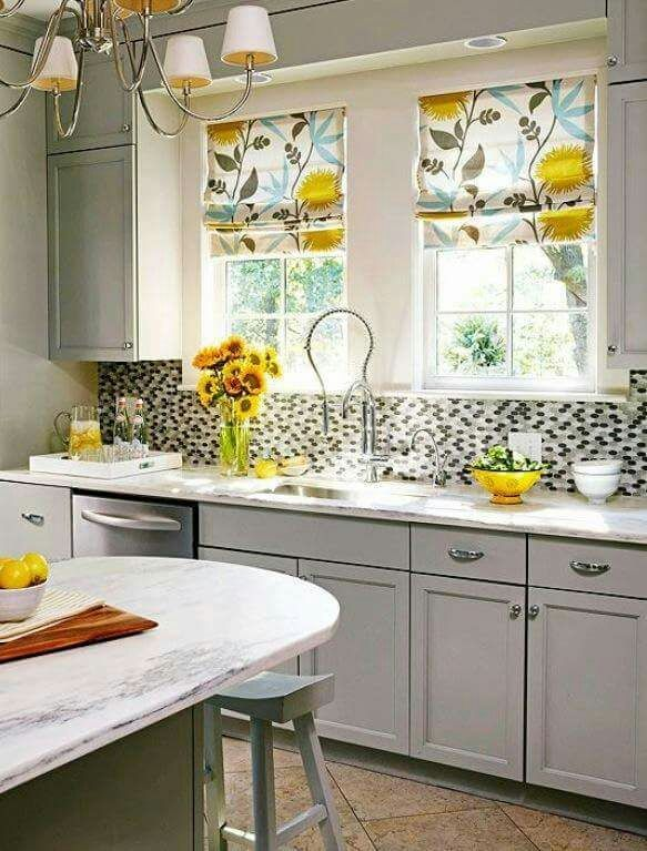 Make Your Home Look Great With Custom Window Coverings Designing Enchanting Designer Kitchen Curtains Design Inspiration