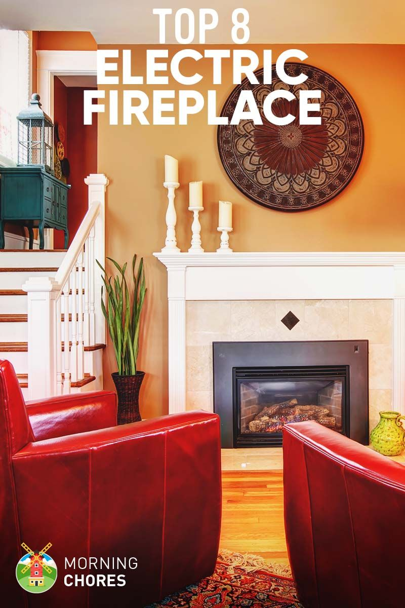 8 Best Electric Fireplace Heater & Stove Reviews