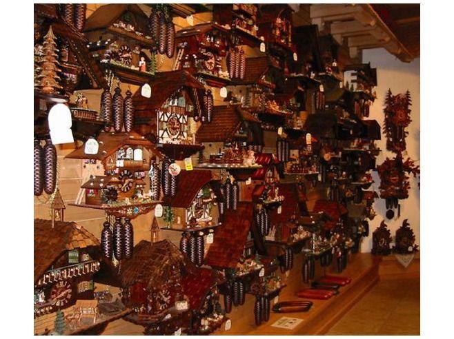 Cuckoo Clock Shop In Triberg Germany Black Forest Germany Triberg Cities In Germany