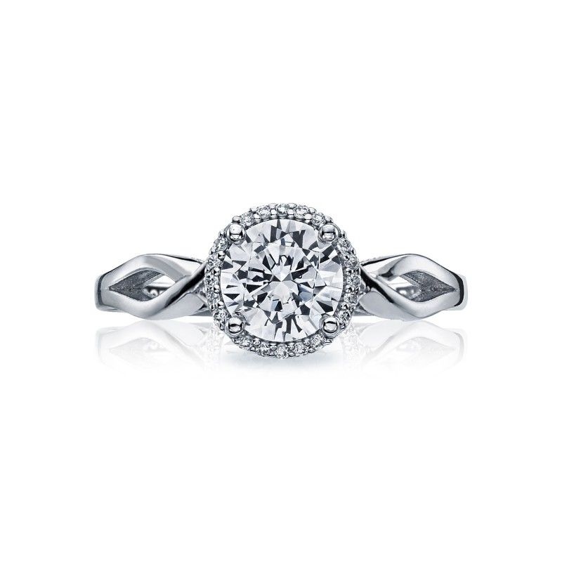Style# 52RD65 - Sculpted Crescent - Engagement Rings - Tacori.com