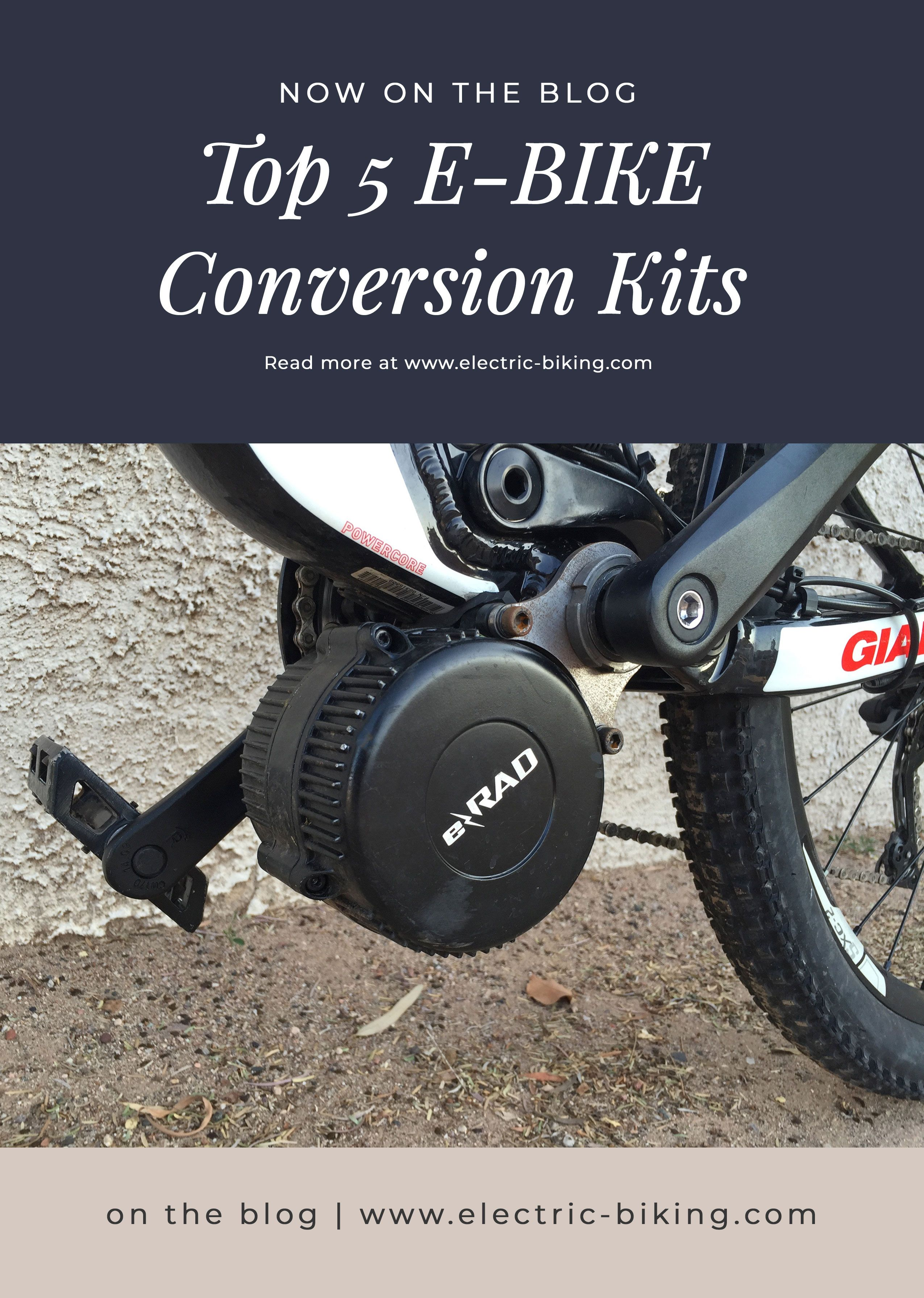 Best Electric Bike Conversion Kits 2020 Mid Front Rear In 2020