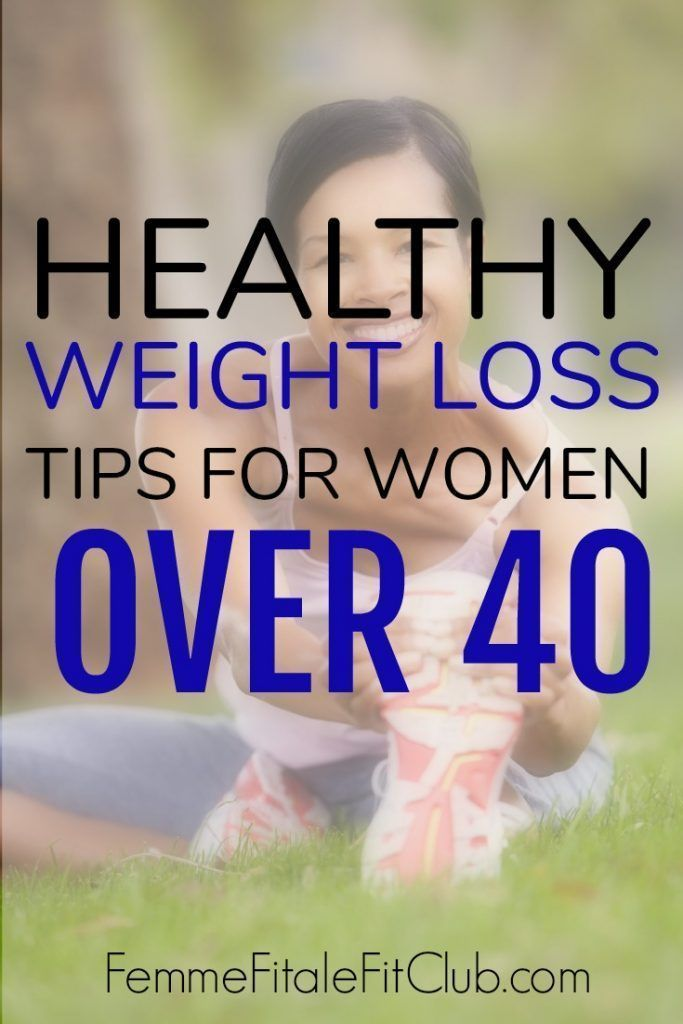Healthy Weight Loss Tips for Women Over 40