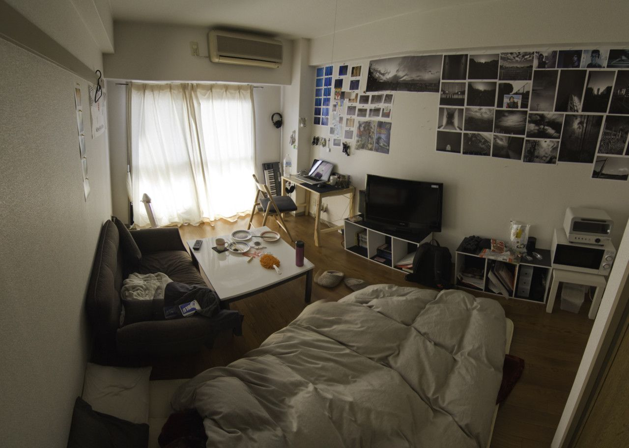 Awesome apartment found in japan tiny apartments for Small studio apartment