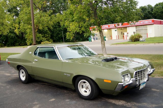 72 Ford Gran Torino Sport Muscle Cars Ford Classic Cars