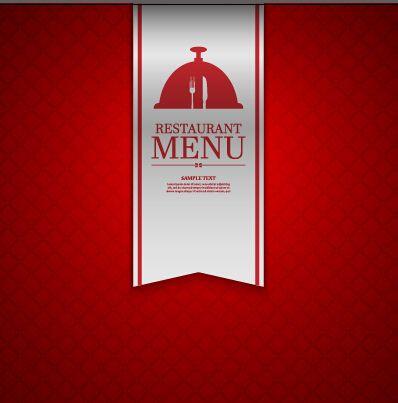 Ornate restaurant menu background art 03 Vector Pinterest Menu