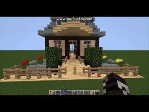 minecraft - nice detailed small house design! | minecraft