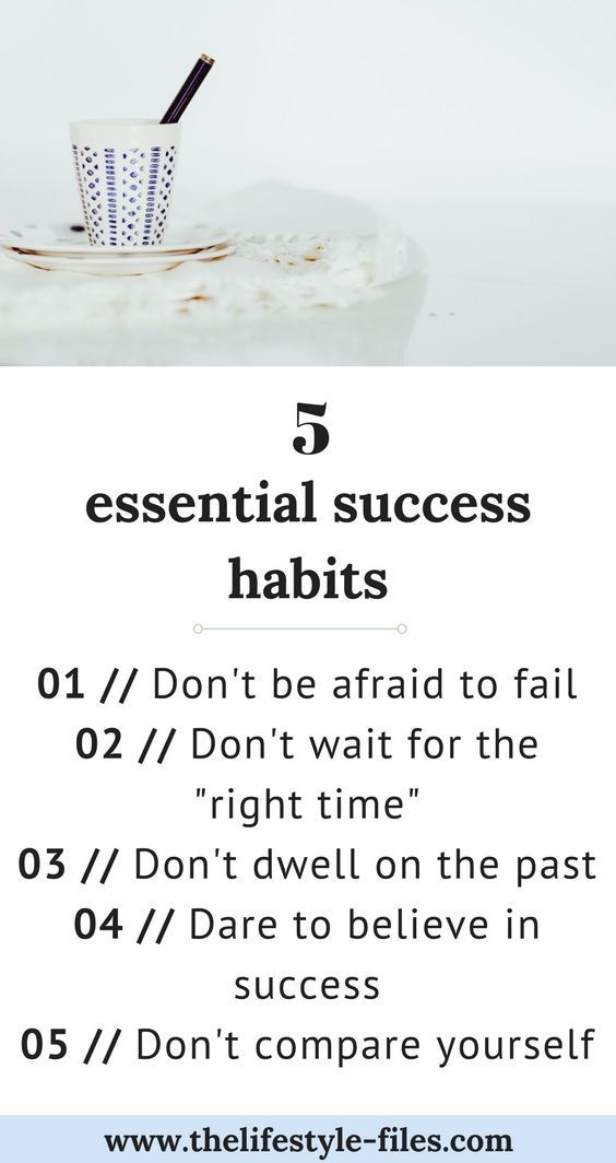 Amazing 5 Success Habits To Adopt In The New Year | Productivity, Success And  Motivation