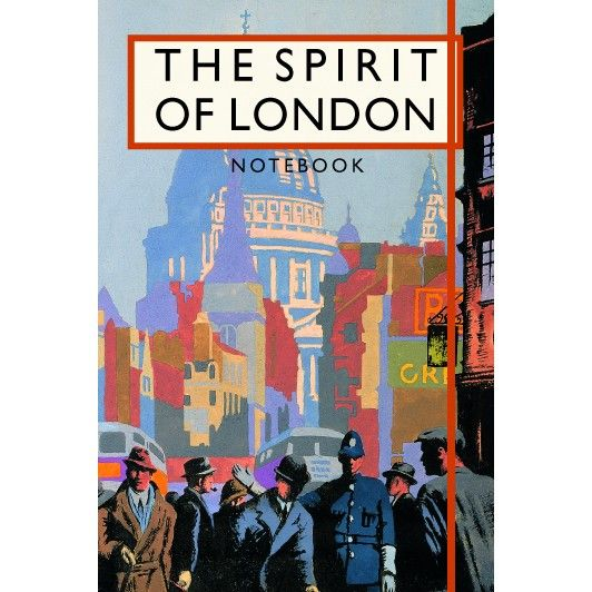Brian Cook: The Spirit Of London Notebook