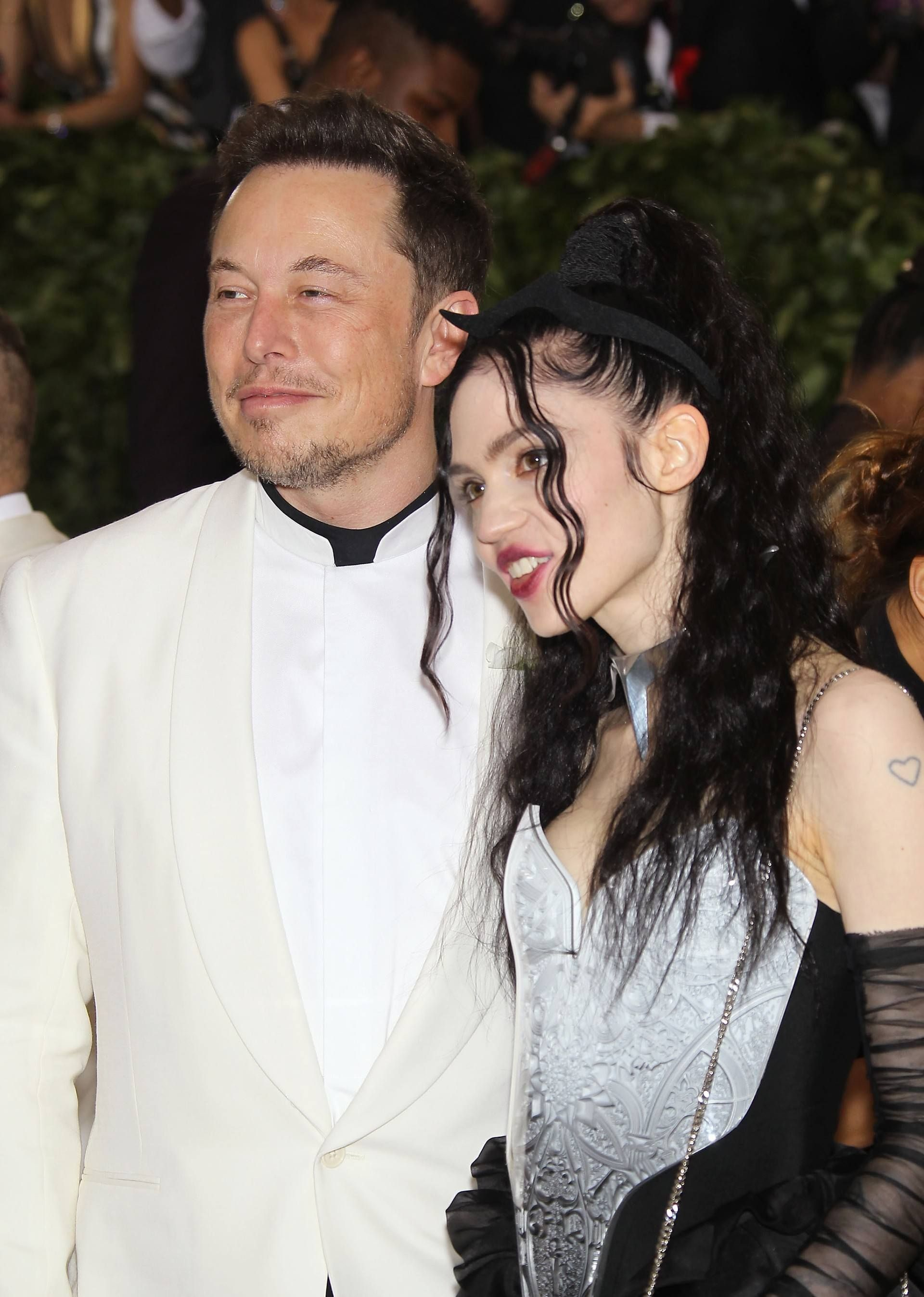 Grimes and Elon Musk at Met Gala 2018 | Claire Grimes | Elon