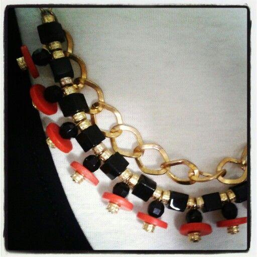 Dorado Rojo y Negro