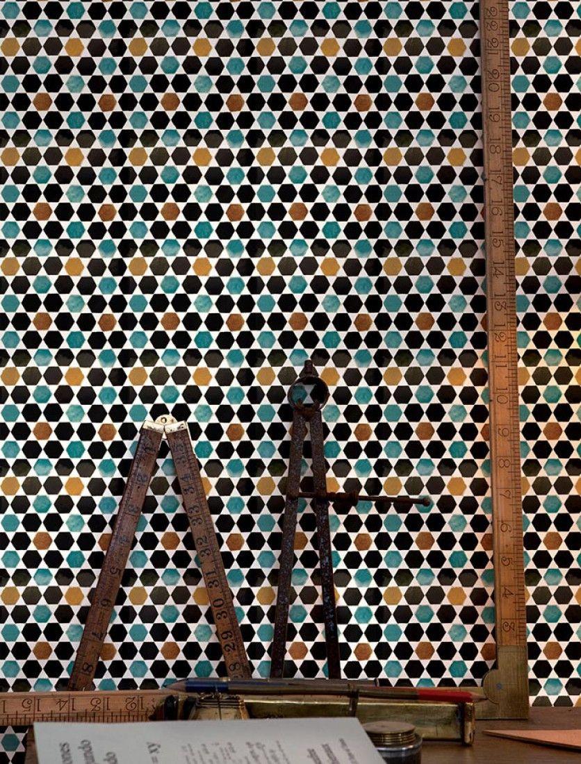 Papel pintado suelo hidr ulico efecto relieve para - Papel para suelo ...