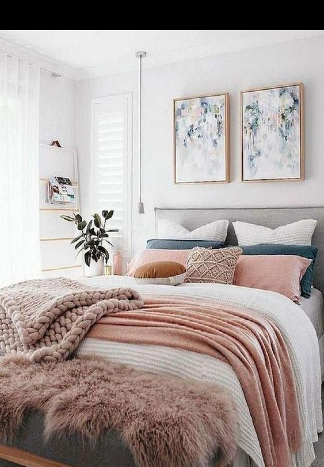 47 Cool Urban Farmhouse Master Bedroom Makeover Ideas Bedroom Interior Home Decor Bedroom Bedroom Makeover Urban master bedroom ideas
