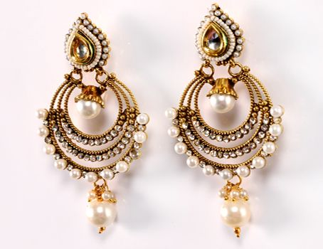 indian earrings designs Google Search EARRINGS Pinterest
