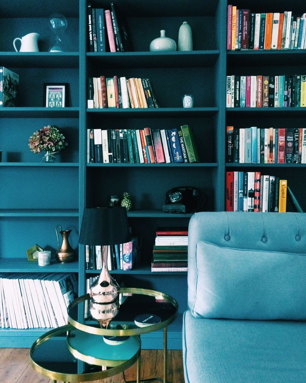 Condo Decorating Ideas: Bookcase Envy! 5 Bloggers Who've Nailed The Shelfie