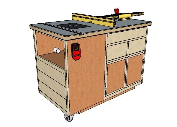 Incra router table cabinet woodworking pinterest router router table and cabinet for incra ls positioner and fence 1 introduction by greentooth Images