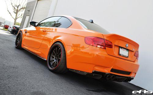 Modified Bmw Orange Colour Bmw Orange Car Modified Cars