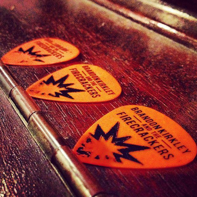 BKTF Guitar Picks on the studio piano | Flickr - Photo Sharing!    Brandon Kirkley and the Firecrackers  BKTF  BKTF.net