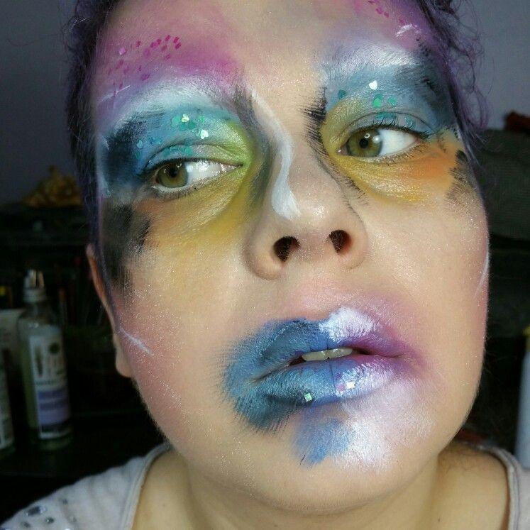 Day 44 of #100daysofmakeup #creative #makeup #makeuplove #makeupartist #muanation