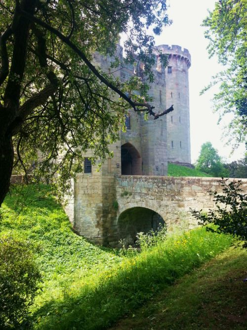 """whimsyandwonder: """" Just a tiny part of Warwick Castle from ..."""