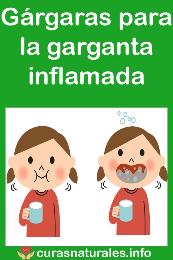 Garganta inflamada o que tomar de remedio