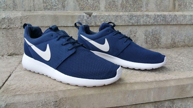 sneakers for cheap 77dc1 09c42 Nike Roshe Run Womens Mens Shoes Navy Blue White,Roshe Run,Shoes,Sneakers ,Kicks