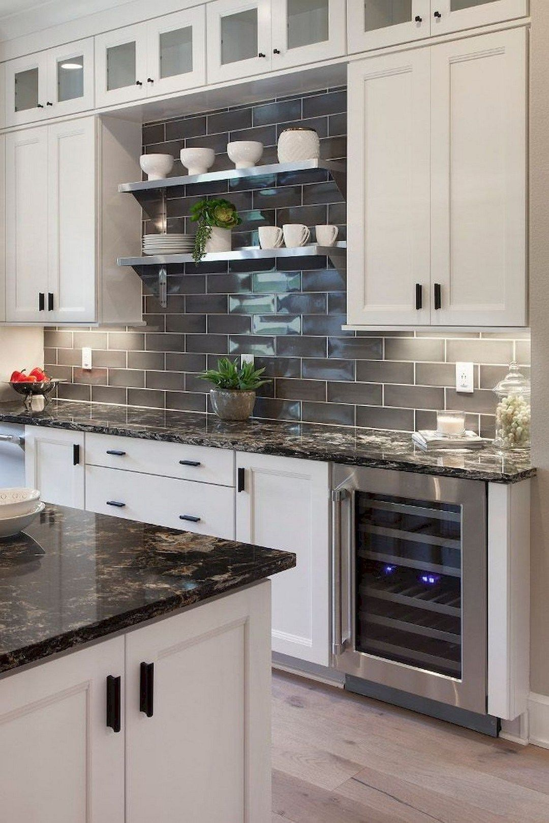 29 Cool Cheap Diy Kitchen Backsplash Ideas 7 In 2020 Kitchen Cabinets Decor Diy Kitchen Backsplash Kitchen Backsplash