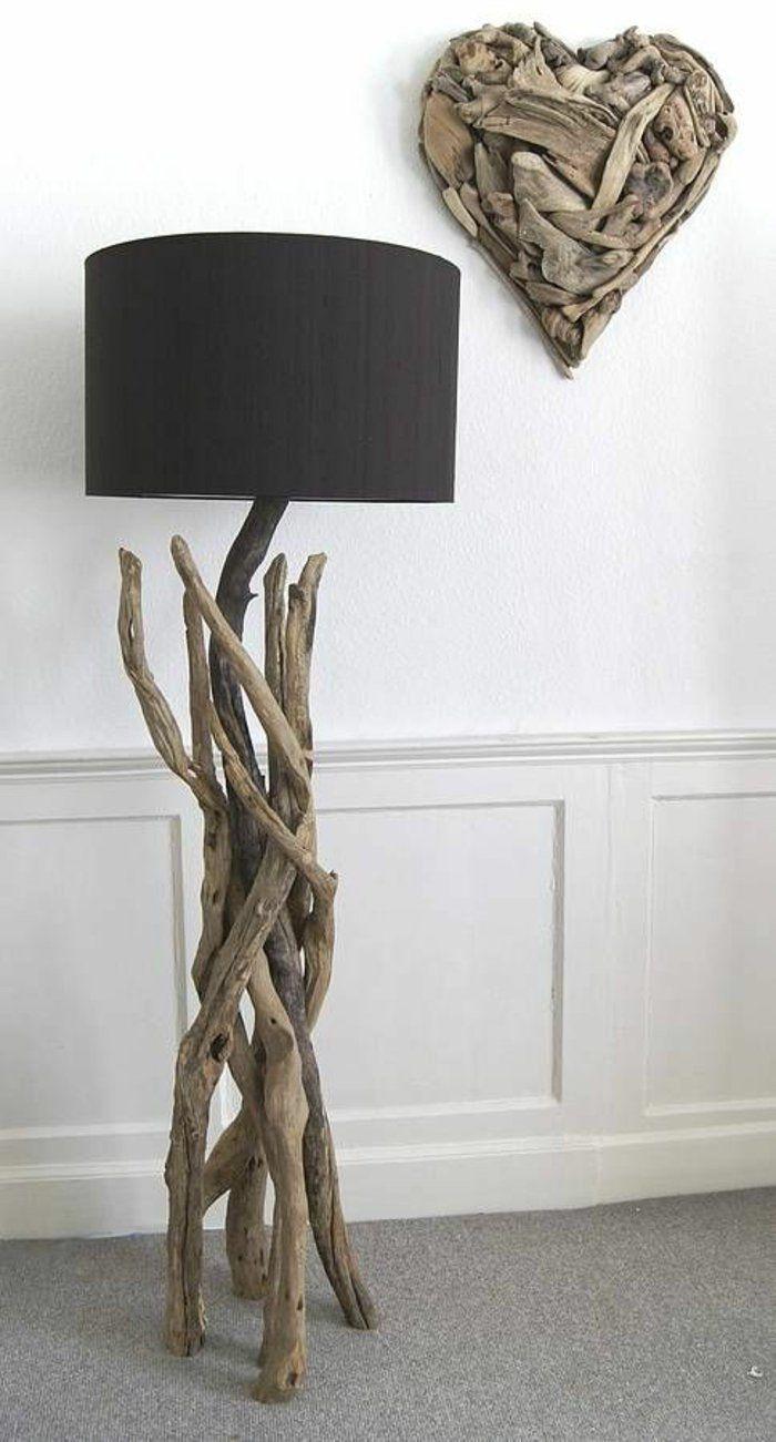 GroBartig Treibholz Möbel Kreative Wohnideen Treibholz Deko Wood Floor Lamp,  Driftwood Crafts, Scandinavian House,