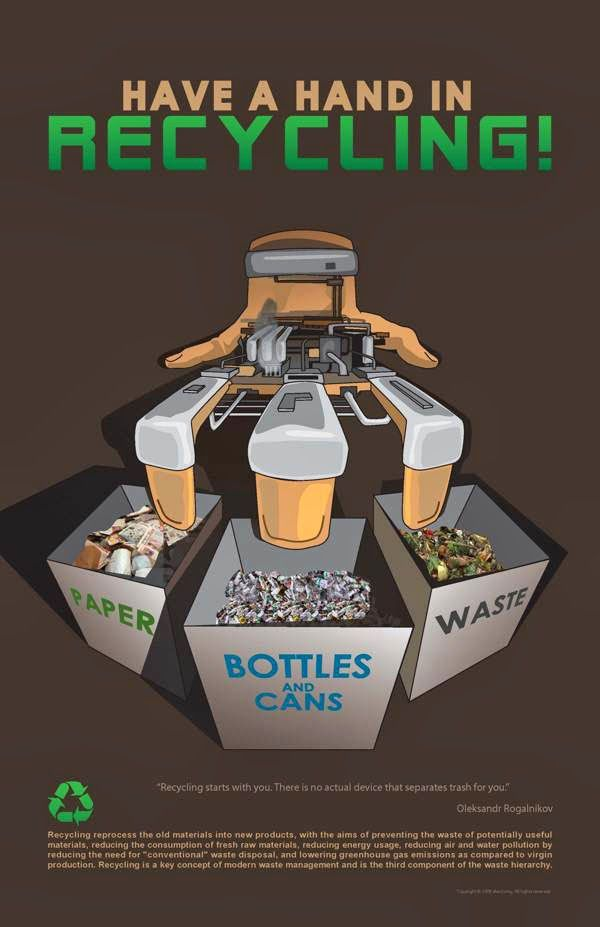 example of recycling poster | Recycle in 2019 | Recycling, Poster