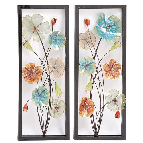 Found It At Wayfair 2 Piece Metal Wall Decor Set