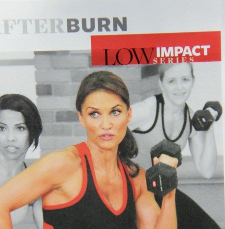 Summary and review of the exercise video Afterburn with Cathe Friedrich from the…