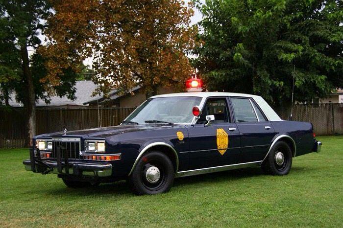1986 Dodge Diplomat Kansas Highway Patrol Vintage Police