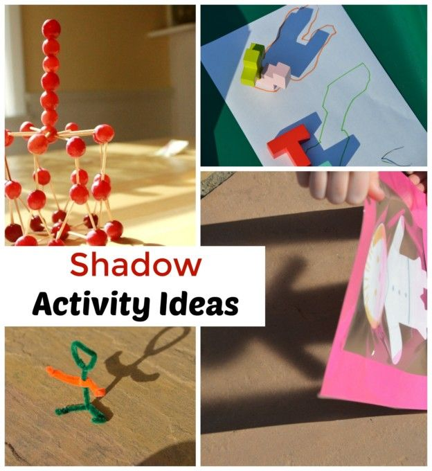 Shadow Experiments And Activities For Kids Shadow Activities Science Activities For Kids Science For Kids