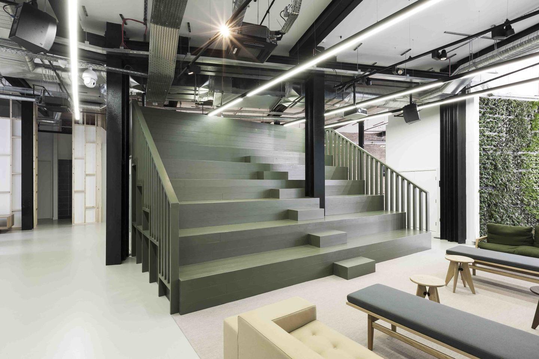 D+DS architecture office, Tom Fallon · Capco / Bold Rocket Offices · Divisare