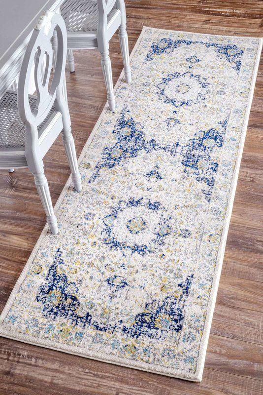 Charlton Home Innenteppich Doylestown In Blau Grau Bewertungen Wayfair De Teppichboden Blaue Teppiche Dekor