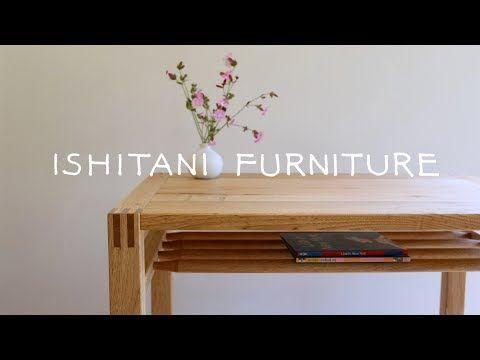 Ishitani Making A Small Table With A Shelf Youtube Mobilier De Salon Bois