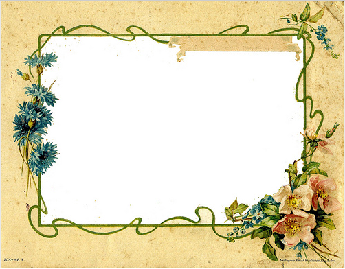 Fotograf på smögen: Beautiful organic frame freebies | Borders ...